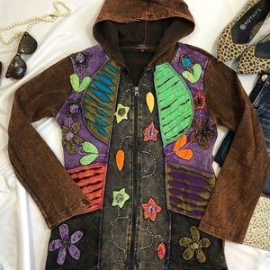 Rising International Hoodie M Zip Jacket A23